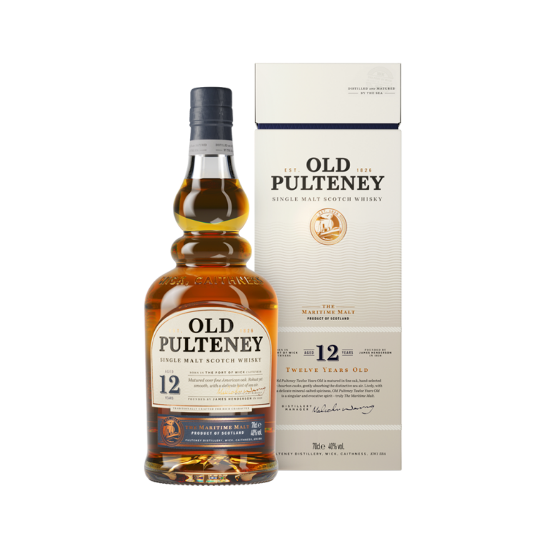 OLD PULTENEY 12 YEARS OLD SINGLE MALT WHISKY