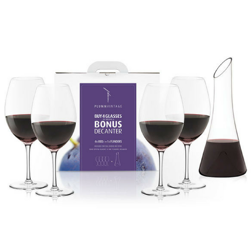 PLUMM RED A BONUS FLINDERS DECANTER PACK