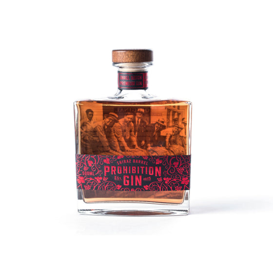 PROHIBITION SHIRAZ BARREL GIN 500ML