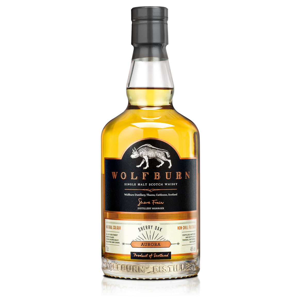 WOLFBURN AURORA SINGLE MALT WHISKY 700ML