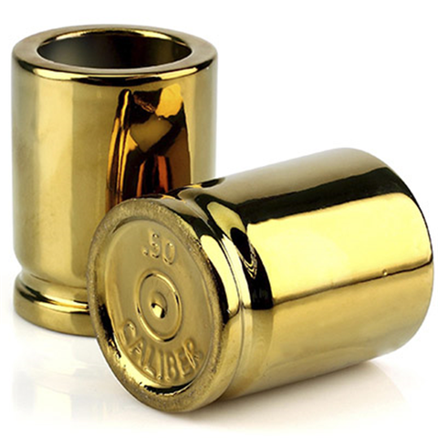 50 Caliber Shot Glasses