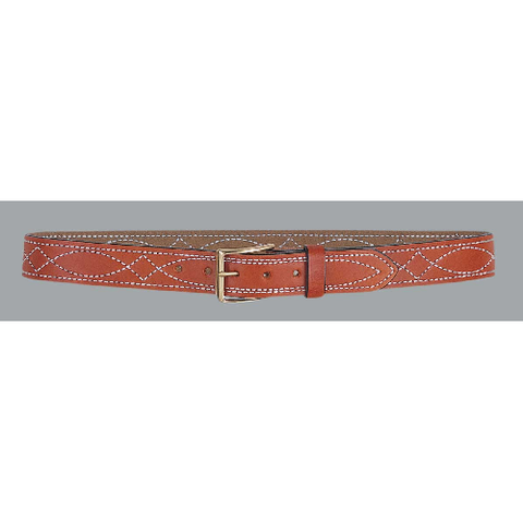 "1 1-2"" Fancy Stitch Lined Belt"