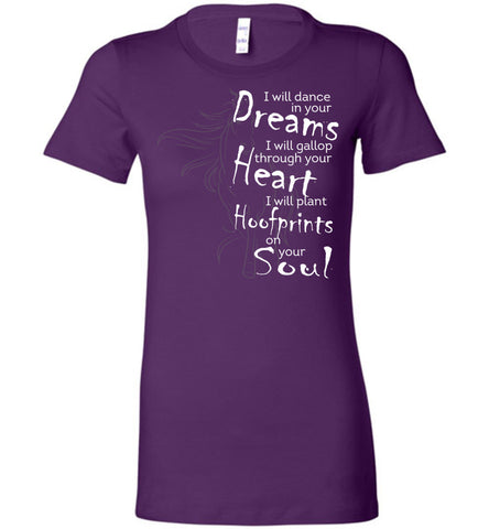 Image of I Will Dance In Your Dreams Horse T-Shirt - OlalaShirt