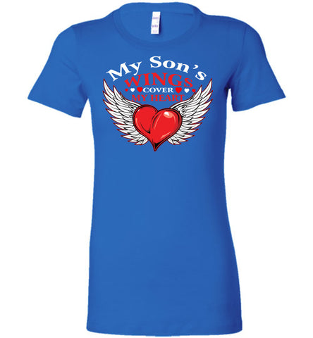 Image of My Son's Wings Cover My Heart - OlalaShirt