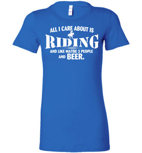 All I Care About Is Riding Horses Shirt - OlalaShirt
