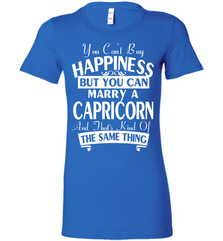 Image of You Can't Buy Happiness But You Can Marry A Capricorn Tee