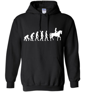 Horse Riding Evolution Shirt Hoodie - OlalaShirt