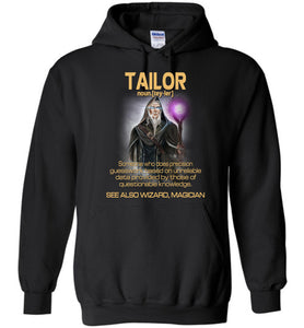 Tailor Someone Who Does Precision Hoodie - OlalaShirt