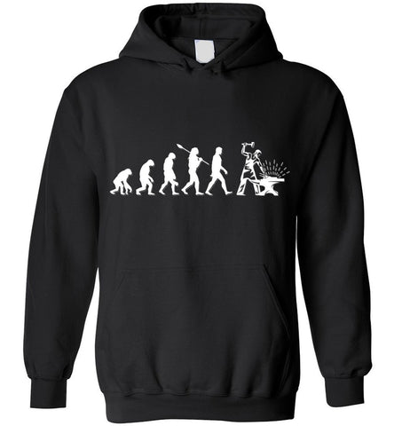 Blacksmith Evolution Funny Gift Hoodie