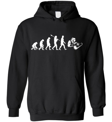 Image of Welder Evolution Funny Gift Hoodie