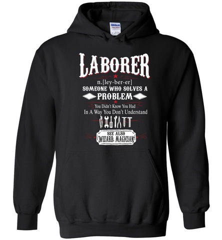 Funny Laborer Meaning Hoodie Noun Definition Gift