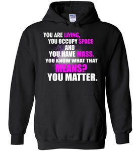 Funny Space Science Pun Hoodie