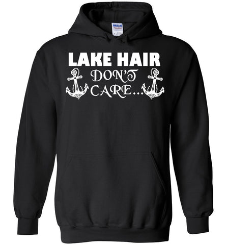 Image of Lake Hair Don't Care Vacation Hoodie - OlalaShirt
