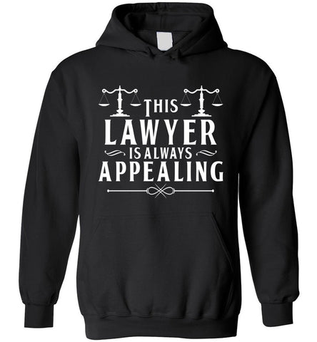 Funny Lawyer Gift Law School Graduation New Attorney Hoodie