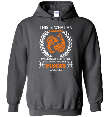 Image of This Is What An Awesome Passionate Pisces Looks Like Hoodie
