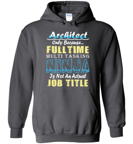 Architect Full Time Multi Tasking Ninja Hoodie