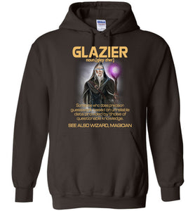 Glazier Someone Who Does Precision Hoodie