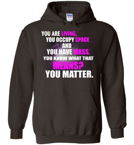 Image of Funny Space Science Pun Hoodie