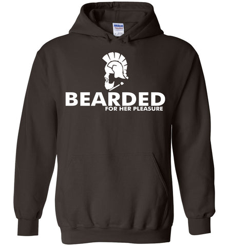 Image of Bearded For Her Pleasure Hoodie - OlalaShirt