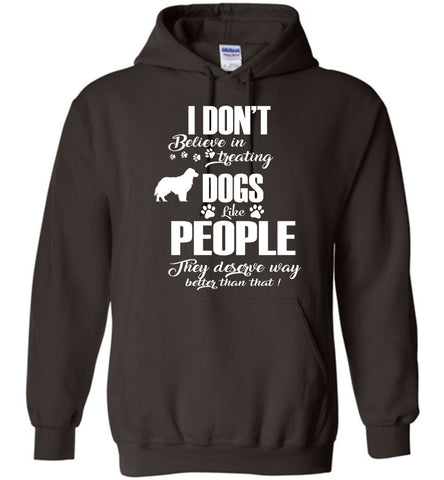 Image of I Don't Believe In Treating Dogs Hoodie