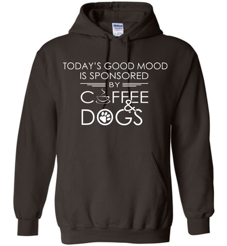 Image of Good Mood Sponsored By Coffee And Dogs Hoodie
