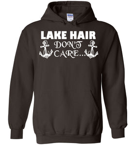 Lake Hair Don't Care Vacation Hoodie - OlalaShirt