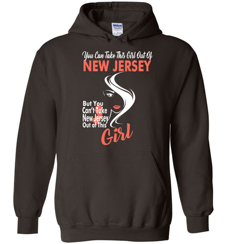 Image of Women's You cant take New Jersey Out Of This New Jersey Girl Hoodie - OlalaShirt