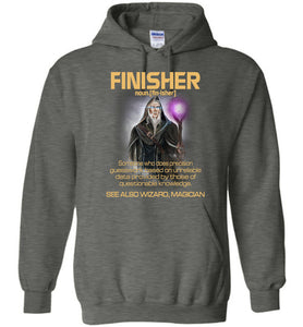 Finisher Someone Who Does Precision Hoodie