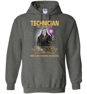 Technician Someone Who Does Precision Hoodie - OlalaShirt