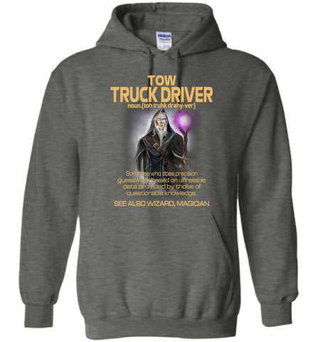 Image of Tow Truck Driver Someone Who Does Precision Hoodie - OlalaShirt