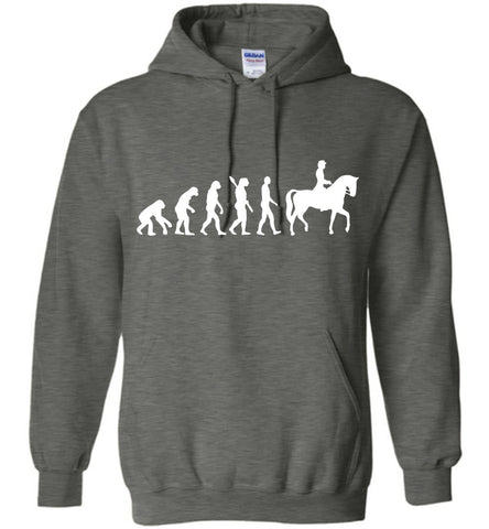 Image of Horse Riding Evolution Shirt Hoodie - OlalaShirt