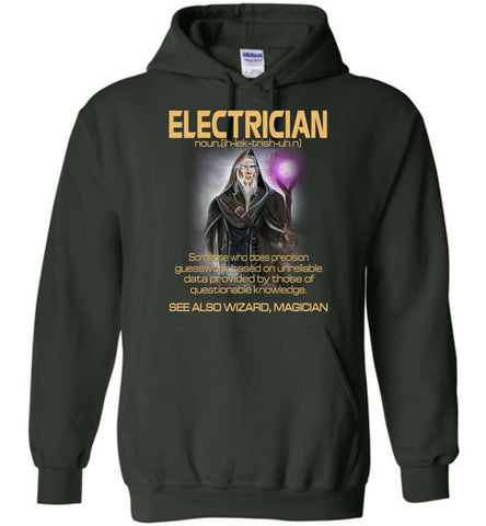 Image of Electrician Someone Who Does Precision Hoodie