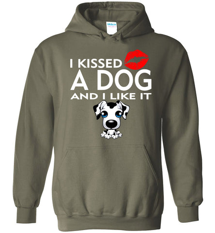Image of I Kissed A Dog and I Liked It Hoodie