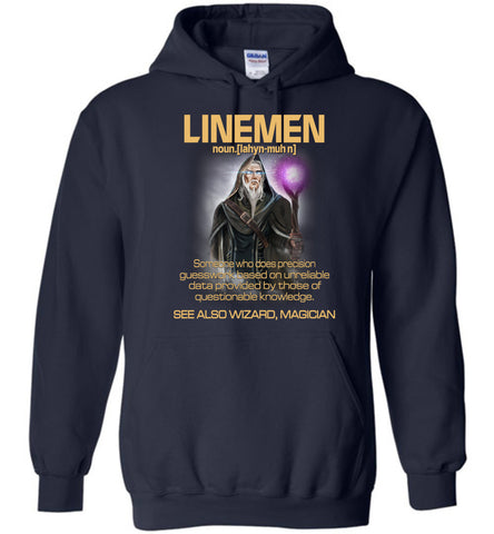 Linemen Someone Who Does Precision Hoodie - OlalaShirt