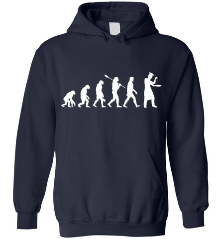 Image of Chef Evolution Funny Gift Hoodie