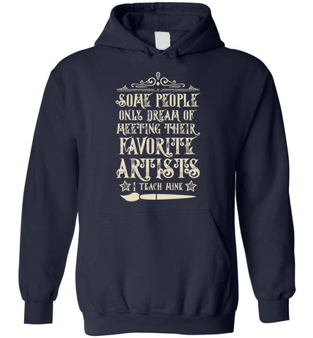 Image of Art Teacher Funny Gift Hoodie