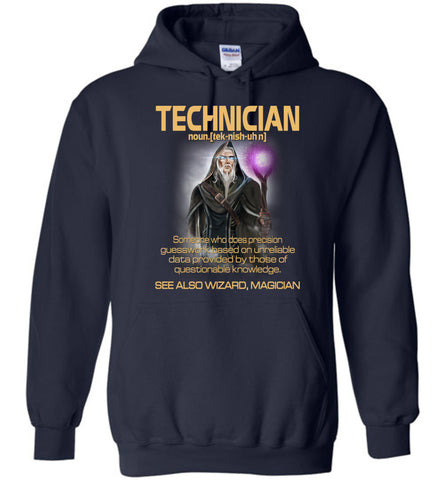 Image of Technician Someone Who Does Precision Hoodie - OlalaShirt