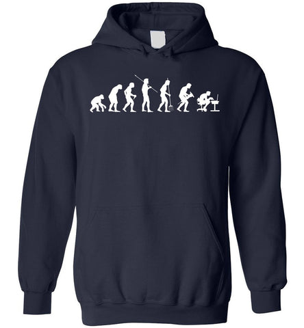 Evolution Of Man Computer Geek, Programmer Gift Hoodie