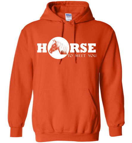 Image of Horse To Meet You Shirt Hoodie - OlalaShirt