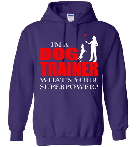 Image of I'm Dog Trainer What's Your Superpower? Hoodie