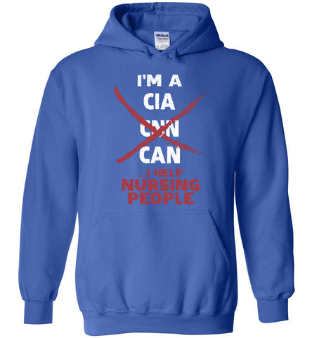 Image of I'm A CNA I Help Nursing People Hoodie Gift