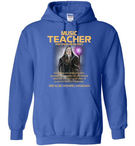 Image of Music Teacher Someone Who Does Precision Hoodie - OlalaShirt