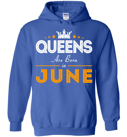 Image of Queens Are Born In June Hoodie