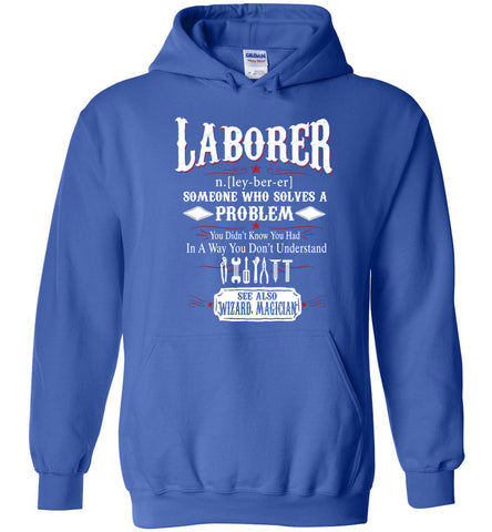Image of Funny Laborer Meaning Hoodie Noun Definition Gift