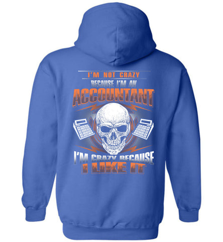 I'm Not Crazy Because I'm An Accountant Hoodie