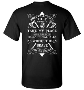 In The Halls Of Valhalla Vikings - OlalaShirt