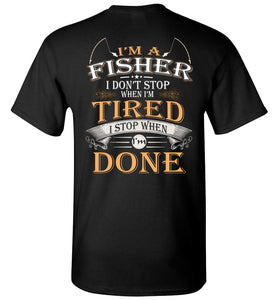 I'm A Fisher Stop When I'm Done