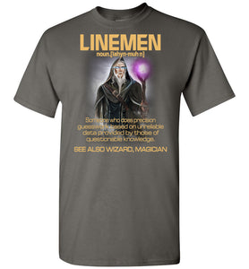 Linemen Someone Who Does Precision - OlalaShirt