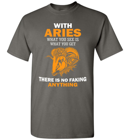 Image of With Aries What You See Is What You Get T-Shirt