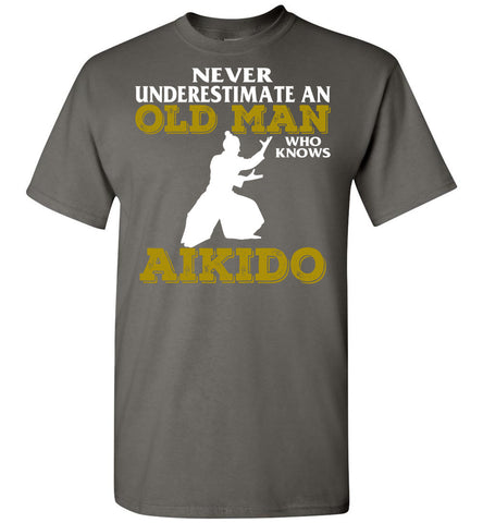 Image of Men's Old Man Aikido T-Shirt - OlalaShirt